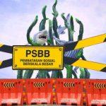 Yang boleh & yang tidak di PSBB Surabaya